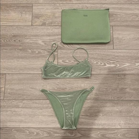 Green Kiara Triangl Bikini